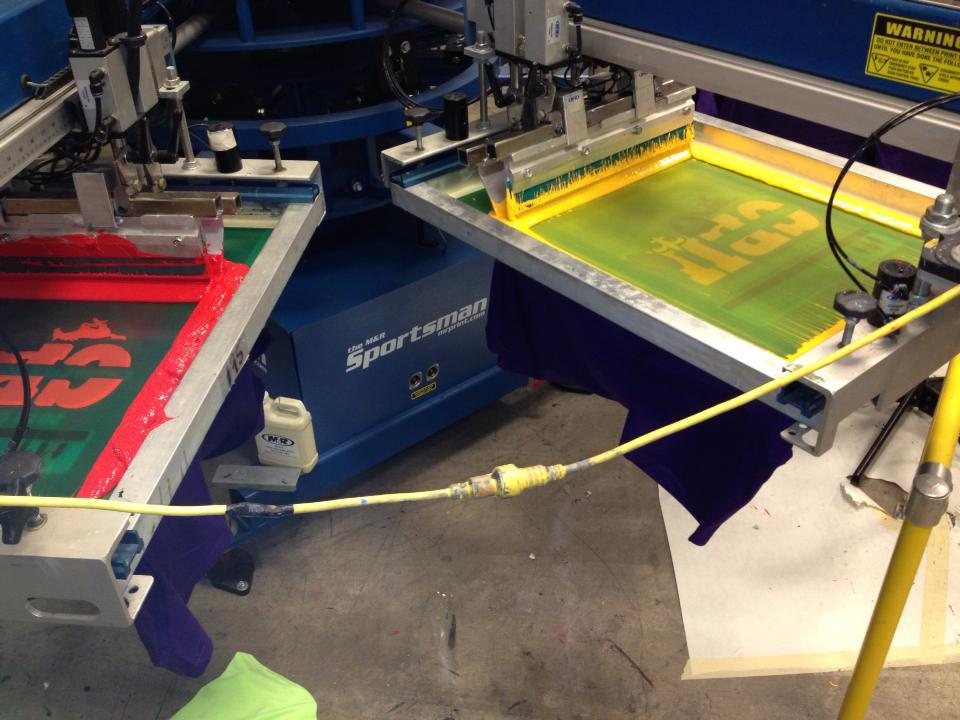 screenprinting machine